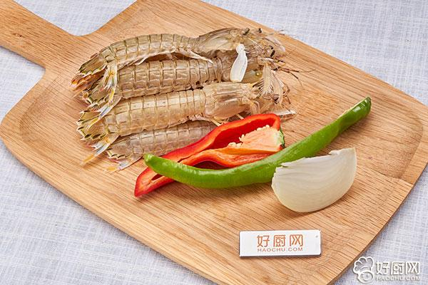 椒盐皮皮虾的做法步骤_1