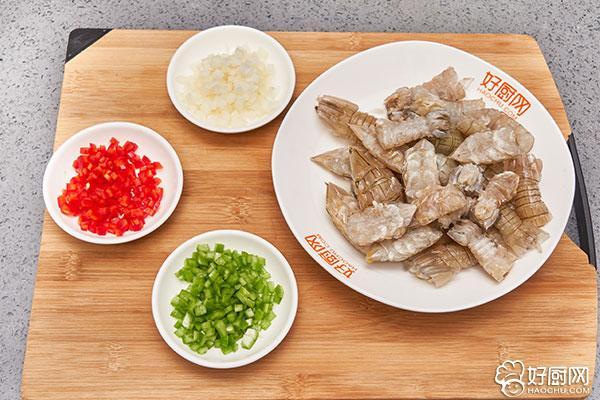 椒盐皮皮虾的做法步骤_2
