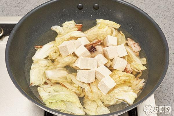 白菜炖豆腐的做法步骤_5