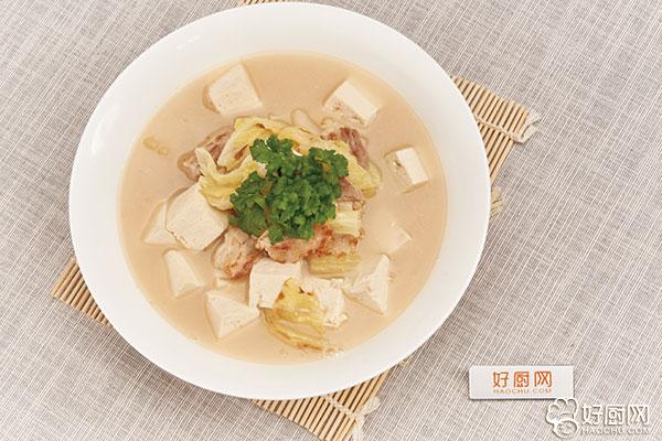 白菜炖豆腐的做法步骤_6