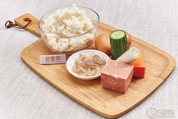 什锦炒饭的做法步骤_1