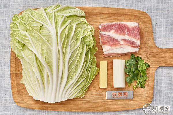蒸白菜卷的做法步骤_1