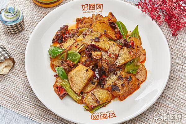 干锅土豆片的做法步骤_12