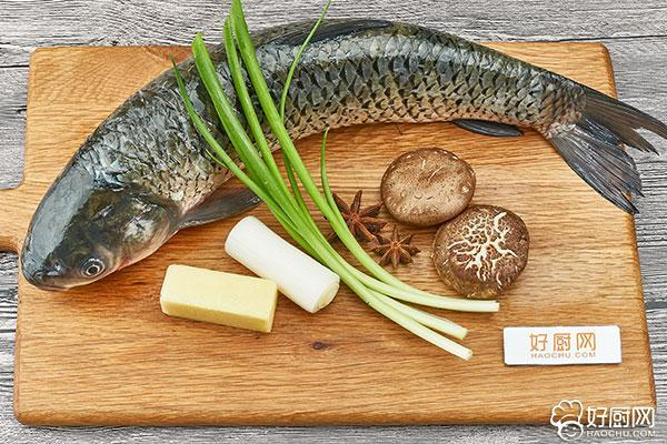 红烧草鱼块的做法步骤_1