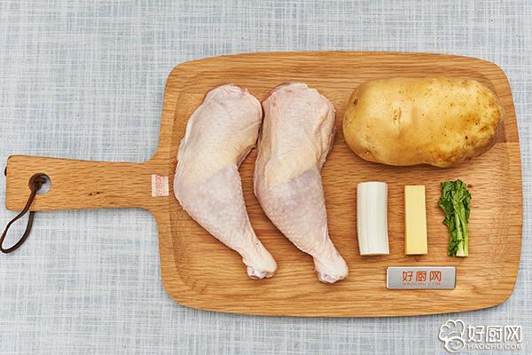 鸡腿炖土豆的做法步骤_1