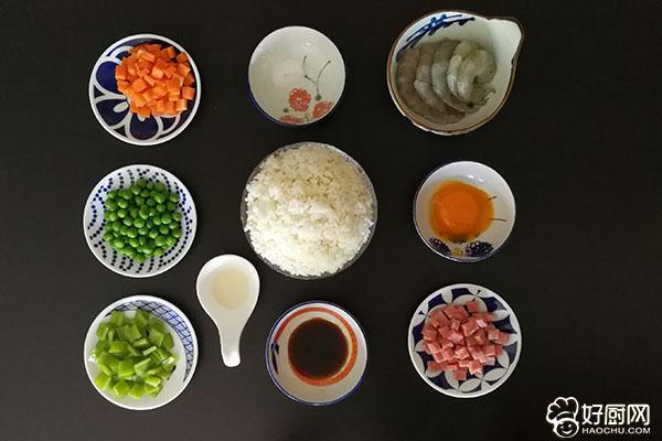 虾仁蛋炒饭的做法步骤_2