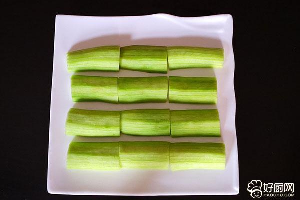 吃一盘海米蒜蓉丝瓜,感受一下营养的能量_1