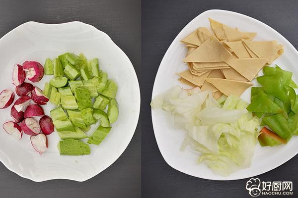 减肥人士的最爱,特别好吃的丰收沙拉_2