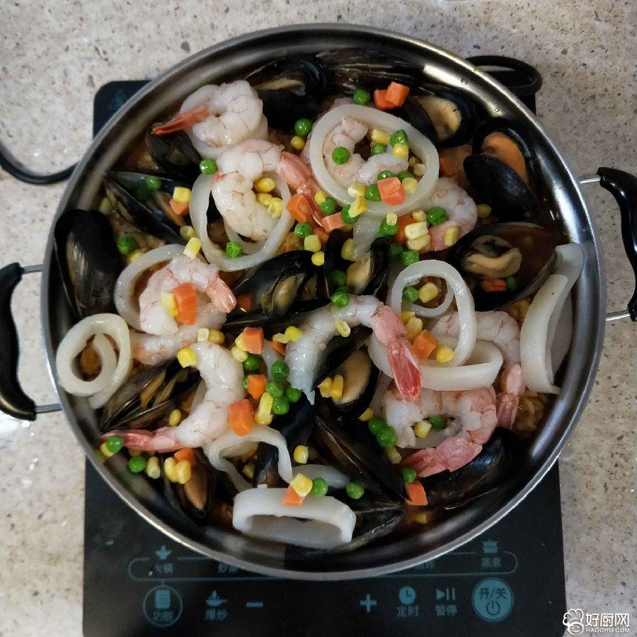 西班牙海鲜饭终极版的做法步骤_5