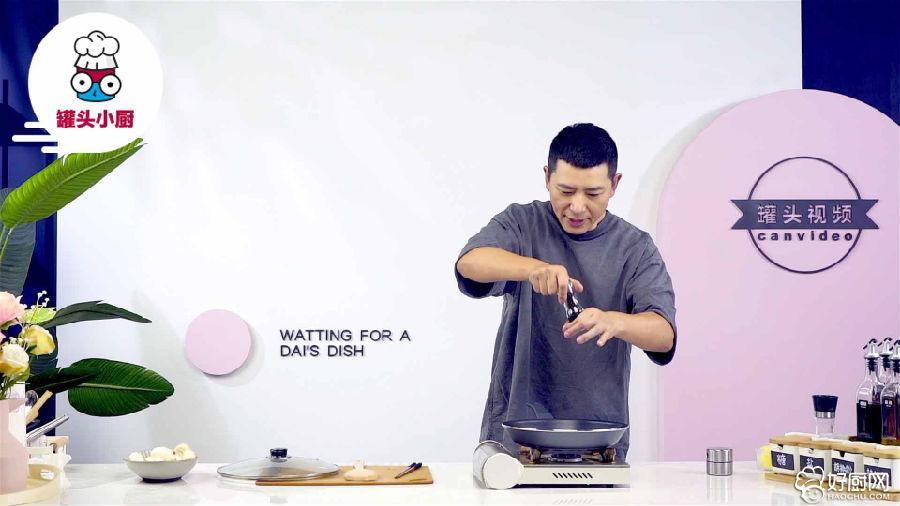 黄油煎口蘑的做法步骤_5