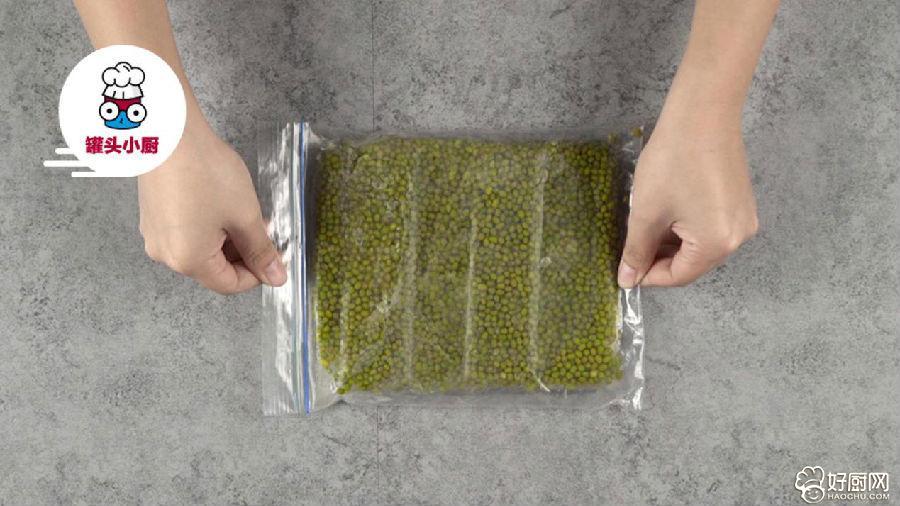 绿豆汤秒变消暑凉糕的做法步骤_1