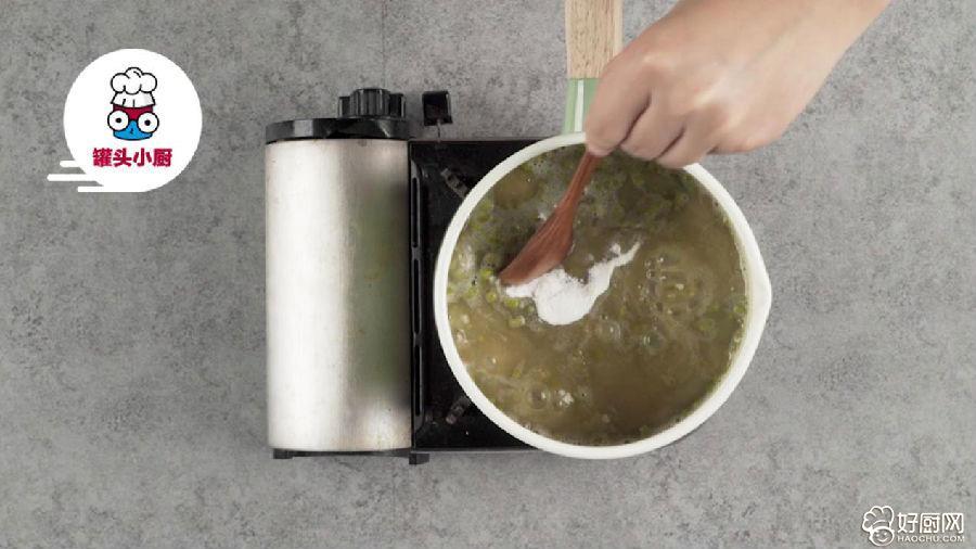 绿豆汤秒变消暑凉糕的做法步骤_3