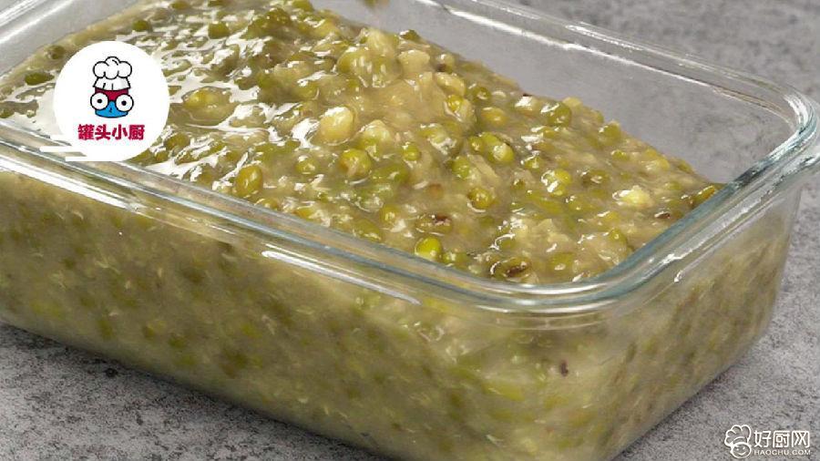绿豆汤秒变消暑凉糕的做法步骤_4