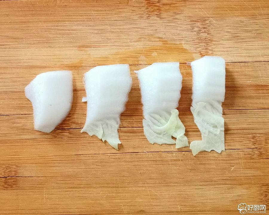 醋溜白菜的做法步骤_1