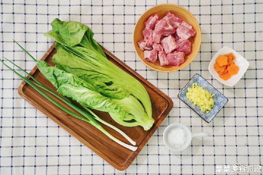芥菜咸骨的做法步骤_1
