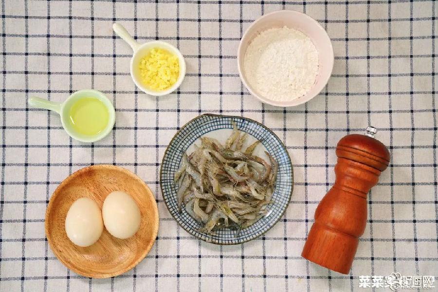 河虾蛋饼的做法步骤_1