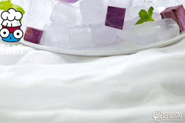 酸奶紫薯雪糕的做法步骤_6